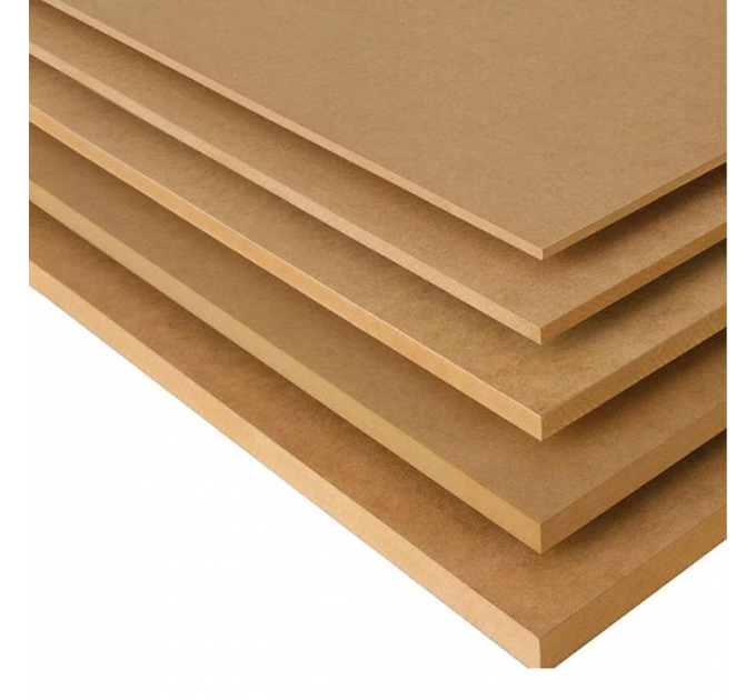 МДФ плита шлифованная 1-сорт 2440х1830х16мм (4,46м²)