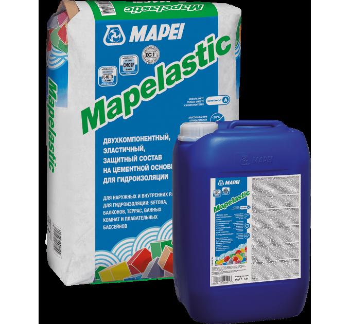 Мапей Мапеластик комплект (А+Б) Двухкомпонентная Гидроизоляция 32кг