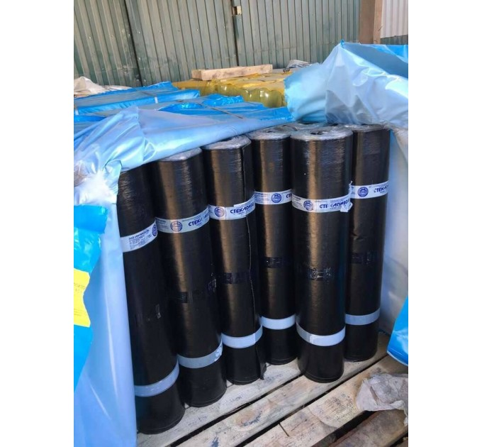 Стеклоизол Р ХПП-2,1мм (холст) кровельный материал 1х9м