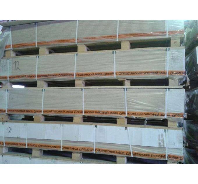 Гипсостружечная плита (ГСП) стандартная 2500x1250x12мм