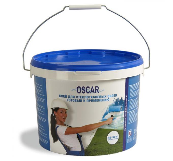 Оскар клей для стеклотканевых обоев 10кг