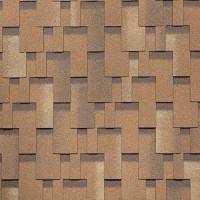 Гибкая черепица Шинглас, серия Балеро, цвет Песок