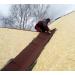 Ендовый ковер Шинглас цвет коричневый 1х10м