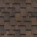 Гибкая черепица Шинглас, серия Финская, Аккорд цвет коричневый