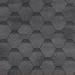 Гибкая черепица Шинглас, серия Финская, Соната, цвет серый