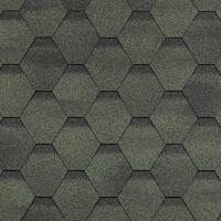 Гибкая черепица Шинглас, серия Финская, Сонато цвет зеленый