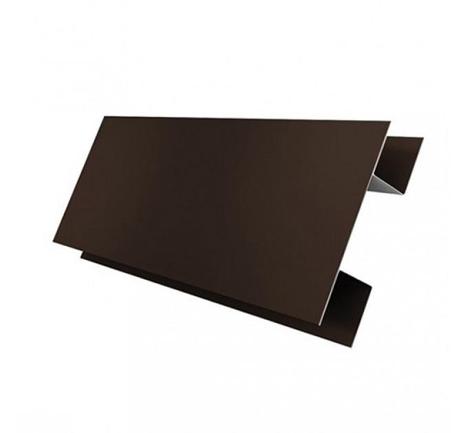Планка Н-образная (стык. сложная) 75х75 мм