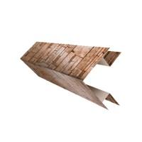 Планка угла наружного сложного (Блок-хаус)