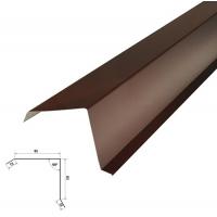 Фартук фронтонный S5 2000х90х30х60мм цвет коричневый 2м