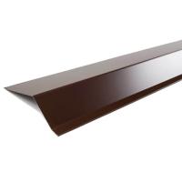 Фартук карнизный S1 2000х65х50мм цвет коричневый 2м