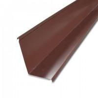 Фартук пристенный S6 2000х45х20мм Технониколь цвет коричневый 2м