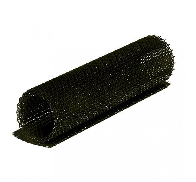 Сетка плетеная штукатурная черная 14x14x0,8мм, рулон 1х80м