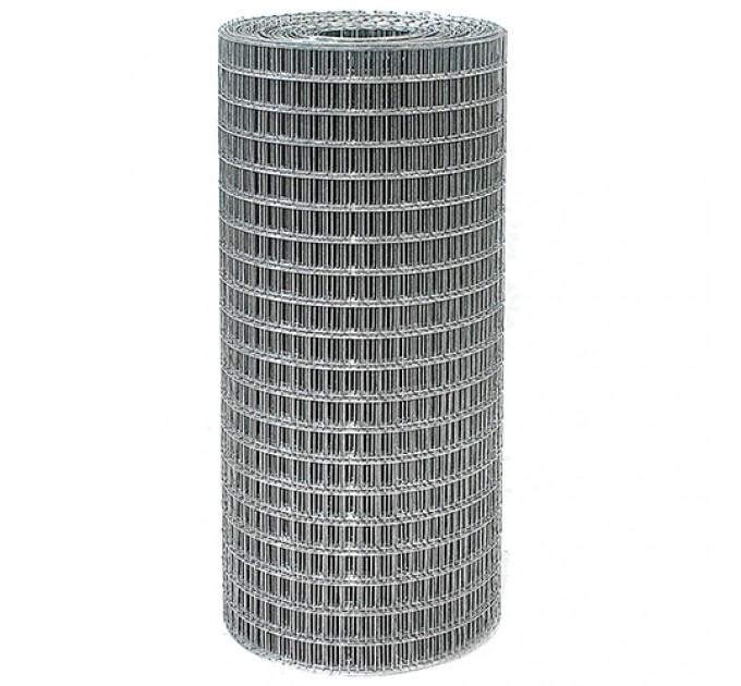 Сетка сварная оцинкованная 50x50x1,6мм, рулон 1,5x40м