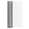Сетка рабица черная рулон 1x10м яч: 15x15x1мм