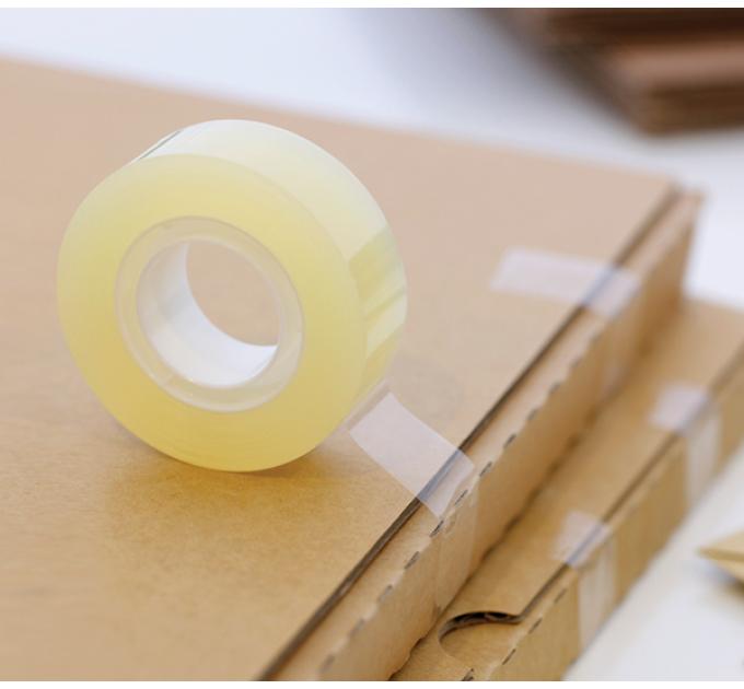 Скотч упаковочный прозрачный UNIBOB 50мм/50м