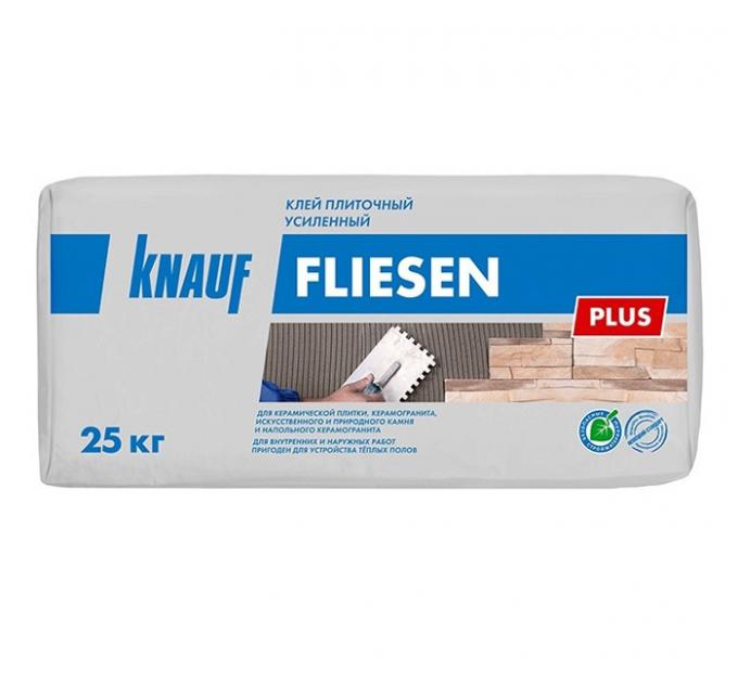 Кнауф Флизен Плюс плиточный клей усиленный 25кг