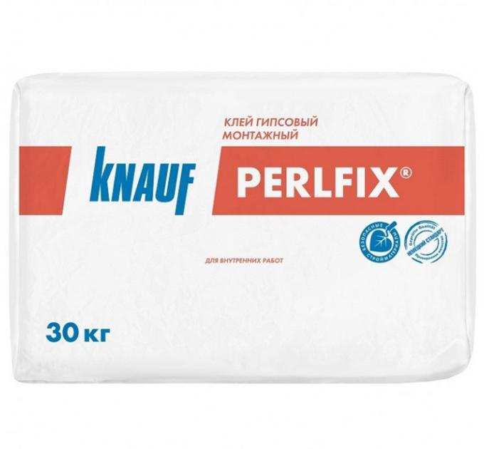Кнауф Перлфикс клей гипсовый монтажный 30кг