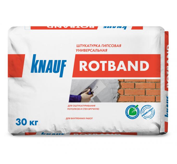 Кнауф Ротбанд гипсовая штукатурка 30кг