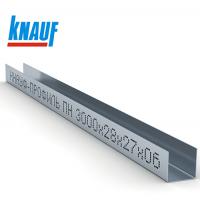Профиль Кнауф (направляющий) 28х27х0,6мм 3000мм