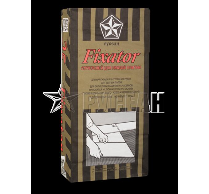 Русеан Фиксатор Плиточный клей 25кг