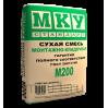 МКУ М-200 Монтажно-кладочная смесь 40кг