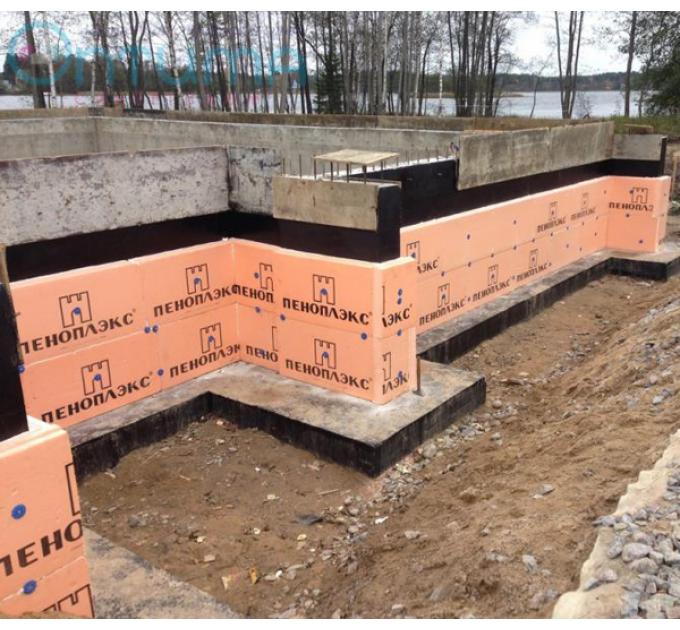 Пеноплекс Фундамент 1185x585x50мм (4,86м²)