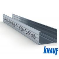 Профиль Кнауф (стоечный) 75х50х0,6мм 3000мм