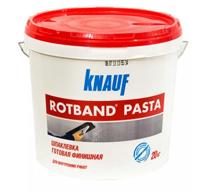 Кнауф Ротбанд Паста Профи готовая шпаклевка 18кг
