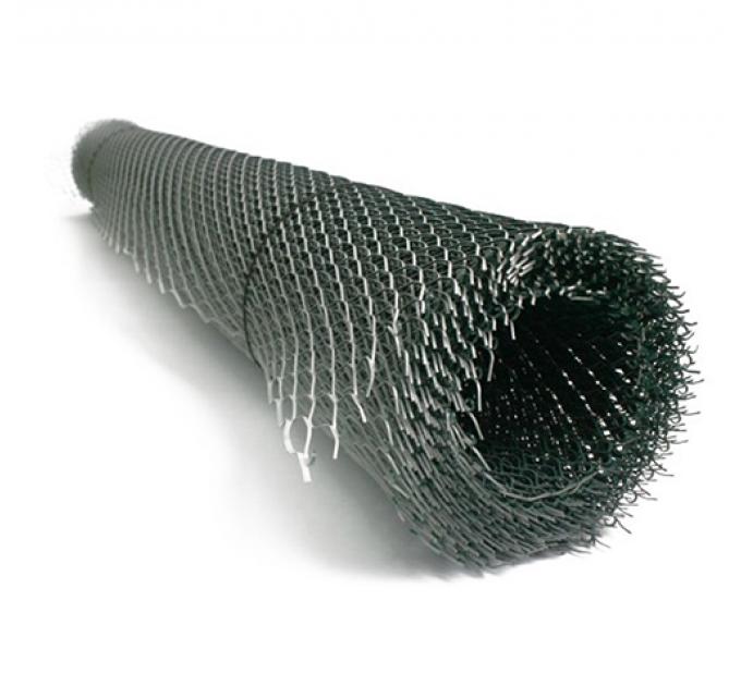 Сетка штукатурная ЦПВС 40х20х0,5мм оцинк 1х8м