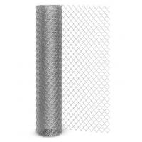 Сетка рабица оцинкованная рулон 2x10м яч: 55x55x2,2мм