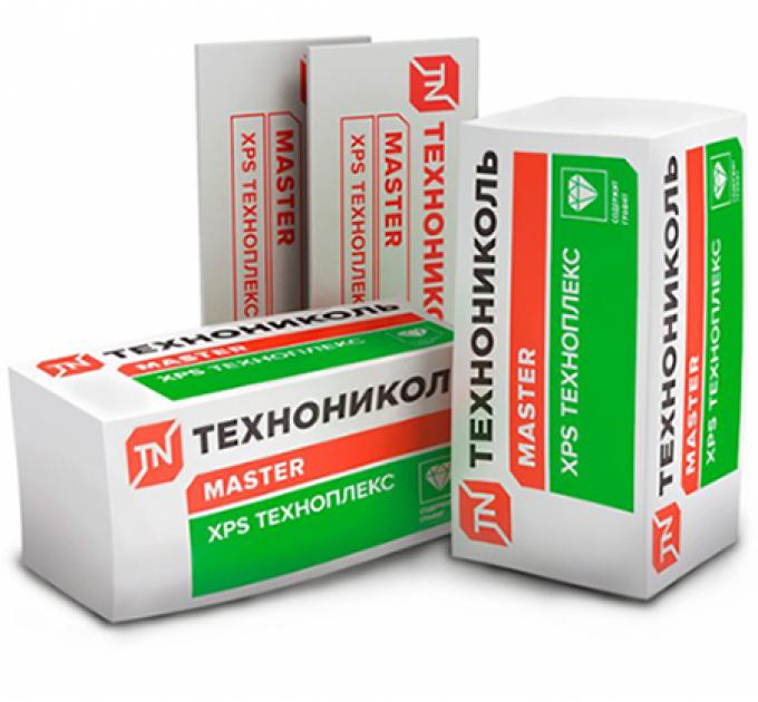 Техноплекс XPS Пенополистирол 1180x580x30мм (8,9м²)